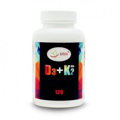 Vitamin D3 + K2 120x180mg