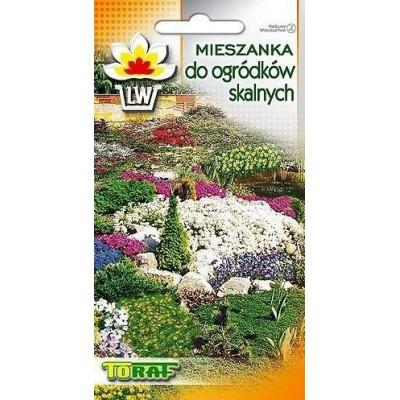 Rock-garden perenial mixtures