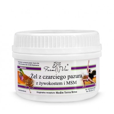 Devil's claw gel with comfrey and MSM 350g
