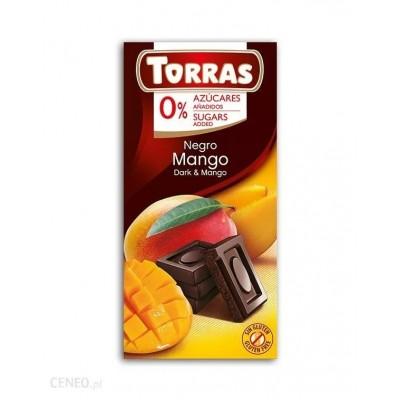 Dark chocolate with mango 75g