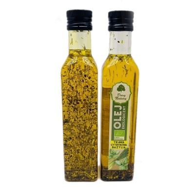 BIO Oil with lemongrass and basil