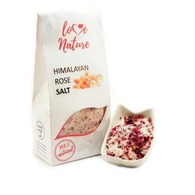 Himalayan rose salt