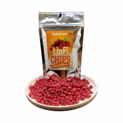 Red currant freeze-dried