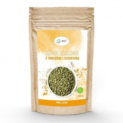 Green Coffee ground 250g with spices