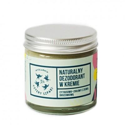 Cream deodorant citrus and herbs 60ml