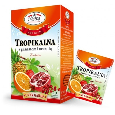 Tropical tea with Pomegranate and Acerola 20 x 2g