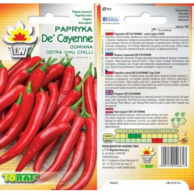 Pepper De Cayenne Typ Chili