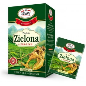 Green Tea with Ginseng 20 x 1.5g