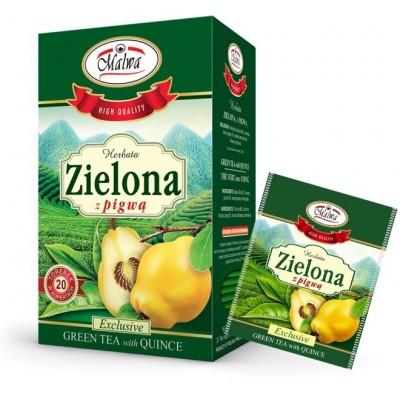 Groene thee met kweepeer 20 x 1.5g