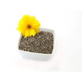 Chiazaden met een bloem