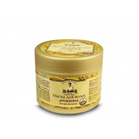 Yeast hair mask - stimulates hair growth