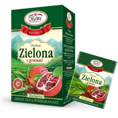 Green tea with pomegranate 20 x 1.5g