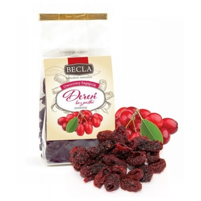 Cornelian cherry dried