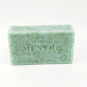 Marseille soap Mint leaves 100g
