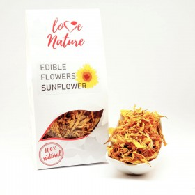 Sunflower petals edible