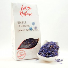 Cornflower petals edible