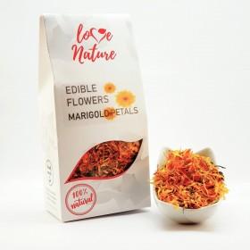 Marigold petals edible