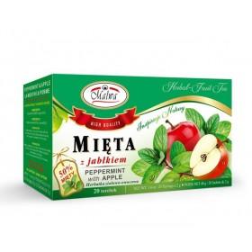 Herbata miętowa z jabłkiem 20 x 2g