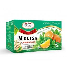 Melisa z pomarańczą 20 x 2g