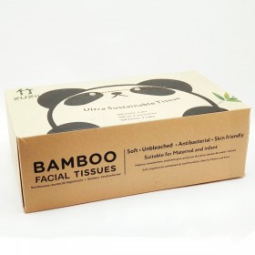 Bamboo tissues 100 sheets