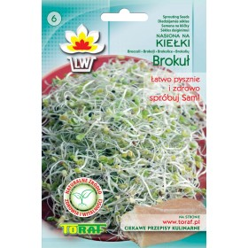 Sprout seeds broccoli