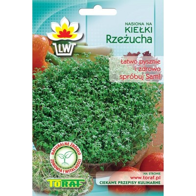 Sprout seeds garden cress