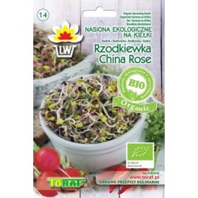 BIO Sprout seeds radish China Rose