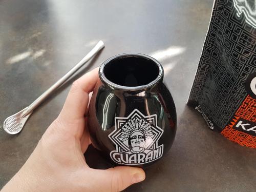 Dinkbeker voor yerba mate thee - Kalebas
