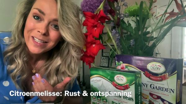 Thee & eetbare bloemen - De kracht van thee en bloemblaadjes