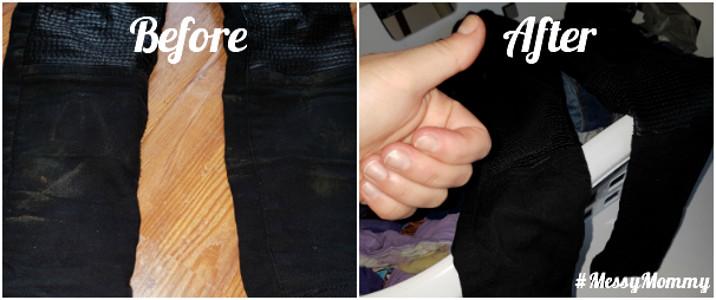 Before en after